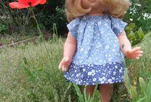 Mes réalisations Tenues Poupées M&T / Mes réas de tenues de poupées du catalogue Modes et Travaux