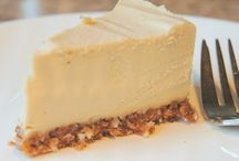 Bakning / Raw food cheesecake