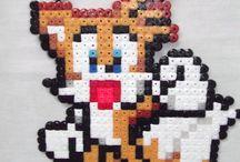 Hama Beads Sonic / Pyssel