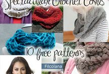 Crochet patterns for grown ups. / Ideas for wooly loveliness for big people