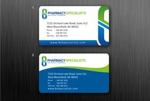 Business Cards Examples / Examples of Well Designed Business Cards