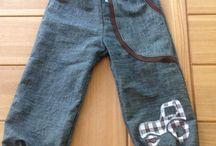 Sy bukser til børn.