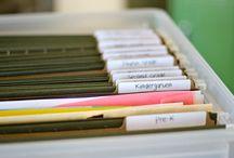 Organization: School Stuff / by Courtney Hawk