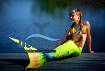Mermaid's tails seria Queen of the color Tropicana Lime
