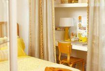 small space living / travail des petits espaces