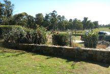 Retaining/stone walls
