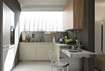 idei pentru bucătării mici si moderne