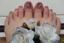 Nail Design - Füße / Feet