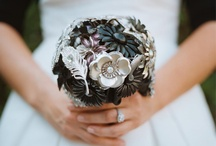 Black and White Wedding  / Black, White and Shiny All Over. Themes and colors formal black, white and silver.