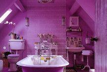 Purple  Bathroom & Accessories