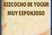 bizcocho de yogurt