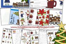 winter worksheets for kids