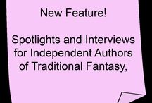 Indie Spotlights and Interviews / This board features books written and published by independent fantasy authors who have either self published or published through a small or trade publisher.