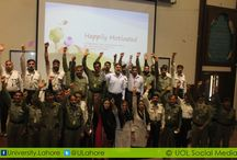 """Training for Security Guards on Work Motivation and Good Gesture. / QEC/Learning Centre organized the """"Training For Security Guards on Work Motivation and Good Gesture (Happily Motivated)"""" for motivating them to perform their duties well.Training was intended to provide persons with the occupational and behavioral skills and attitudes necessary to professionally function as a security guard as required by provincial acts, regulations and in accordance with other legislation."""