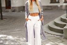 Outfit con palazzo