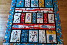 Dr Seuss quilts