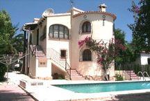 Locations de villas à Calpe, Espagne