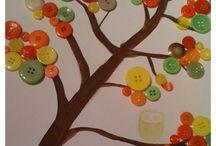 Fall Crafts / School, Thanksgiving, Halloween