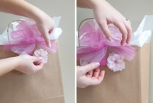 Gift Ideas and Wrapping / by Vivienne Wagner {The V Spot Blog}