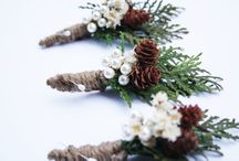 Woodland Wedding / A collection of items for a rustic, woodland-themed wedding