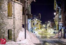 Passeggiata notturna per Alagna / #alagnavalsesia #alagna #monterosavalsesia