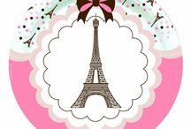 I love Paris Party / Party ideeen voor een feestje in Franse stijl