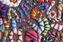 вышивка и цвет
