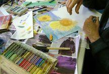 Art Classes {kids} / {creations galore}