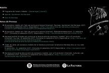 Alejandra Pizarnik: poeta argentina a la BCUM / L'any 2007, dins el projecte Maleïts promogut per l'Ajuntament de Manresa i en el que van col·laborar diversos equipaments i entitats de la ciutat, la BCUM va voler-hi participar fent una mostra bibliogràfica sobre l''autora argentina Alejandra Pizarnik i difonent-la a tothom a través d''un web.