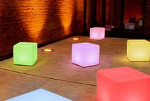 Illuminated Furniture - Feel Good Events / Illuminated Furniture is perfect to add some colour to your next event. All furniture is battery operated and will last around 12 hours, 16 colours to choose from.