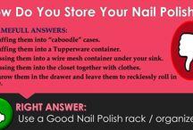 Shameful ways of Storing Your Nail Polish Bottles