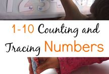 Kids Activities // Counting & Numbers
