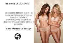 The Voice of Gossard / Cytaty, które nas inspirują!