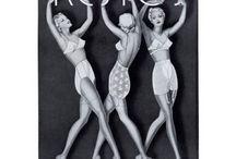 1930s burlesque inspiration