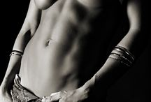 Boudoir: Boudoir: Shadows / Pictures using strong shadows for a darker and more seductive image.