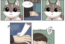 rysunki z kotami