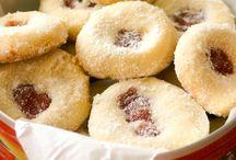 Biscoitos = Cookies ♥ / Aqui estão todas as receitas de biscoitos doces e salgados, preparados no Manga com Pimenta.
