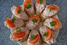 recepty - pomazánky a saláty