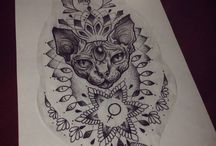 tattoo sphynx