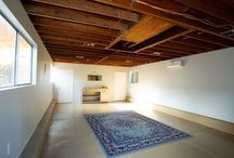 Repurposing Garage / Repurposing #Garage into a #Yoga #Studio completed with a full Bathroom. #Contractor. http://builttoperfection.com/