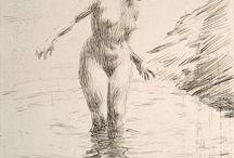 carcoal drawings