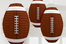 Football Party Decor / Football season is back! Throw a viewing party that all your friends will be talking about for seasons to come!