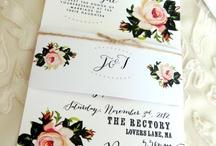 Wedding invite / by Sarah Livingston