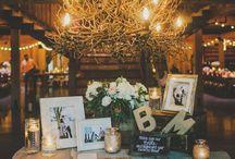 Wedding reception desk