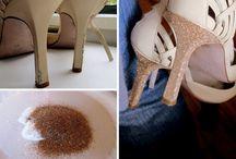 Schuhe umgestalten