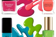 Nail It... / The latest colours and finishes for nails