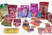 Bachelorette Party Supplies  Candy / Great Bachelorette Party Supplies for any Last Night Out or Girls Night Out celebrating the Bride to Be.