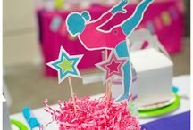 Gymnastics birthday parties