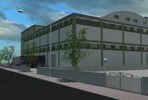 Industrial Buildings / Sanayi Yapıları II / 4000-5000m² Sanayi Arsaları Üzerinde Bina Denemeleri