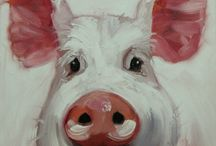 Pigs to paint